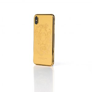 24k gold iPhone X 256GB lion edition